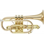 Yamaha Neo YCR8335G II Bb Cornet in lacquer