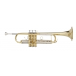 Courtois 334L Trumpet in lacquer (large bore - reversed lead-pipe)