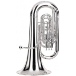 Besson Sovereign EEb Tuba - silver plated with 17