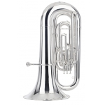 Besson Sovereign 994 BBb Tuba in silver plate