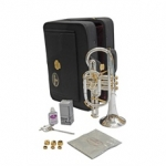Besson Prestige 2028 Bb Cornet (Silver Plated-Large Bore)