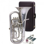 Besson Sovereign 967 Euphonium (Silver Plate-Large Bore)