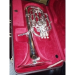 Besson Sovereign Baritone Horn (Silver Plated)