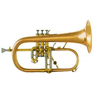 Courtois 154R Flugel Horn - Red Brass Bell
