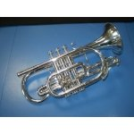Besson Sovereign 928 Bb Cornet (Silver Plated)