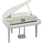 Yamaha Clavinova CVP709 Grand Piano Polished White