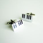 Cufflinks Piano Keyboard
