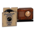 3D Card Phonographic Record DL