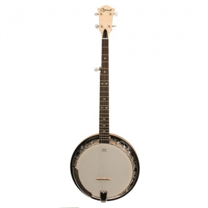 Ozark 2109rg 5 String Banjo Maple Brass Tone Ring