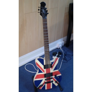 Indie Union Jack Electric Guitar