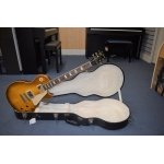 2010 Gibson Les Paul Standard. Ice Tea with Hardcase
