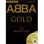 Abba Gold Clarinet Playalong Bk/cd