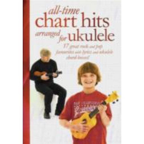 All Time Chart Hits For Ukulele From The Music Cellar