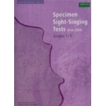 ABRSM Specimen Sight Singing 2009 Gd 1-5