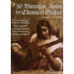 50 Baroque Solos For Guitar Bk/cd