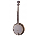 Countryman Brownsville 5 string Banjo. Antique Brass Mahogany