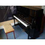 Minster Black Polyester Piano