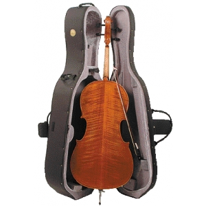 Stentor Conservatoire Cello Outfit Inc Case & Bow Outfit Inc Bow & Hard Case Case 1/4