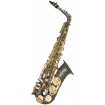 HOrn Classic Alto Sax in Black and Gold Lacquer