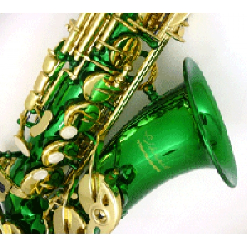 Elkhart Alto Saxophone with green lacquer from The Music ...