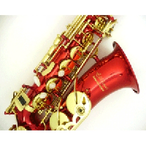 Elkhart Alto Saxophone in Red